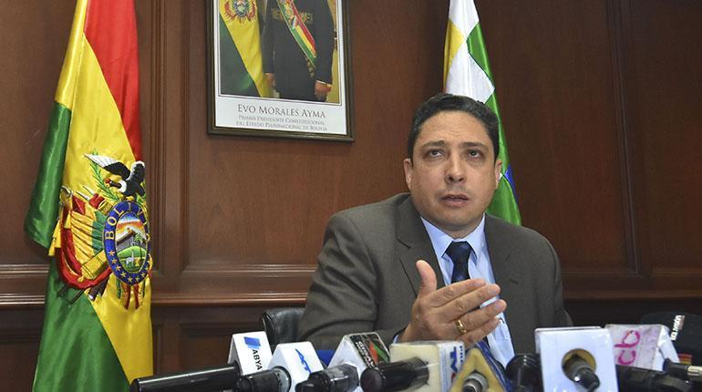 Héctor Arce, exministro de Justicia en el gobierno del presidente Evo Morales
