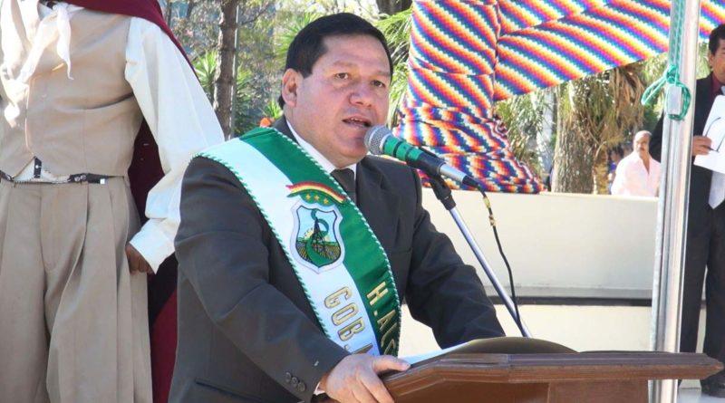 El Alcalde Ramiro Vallejos