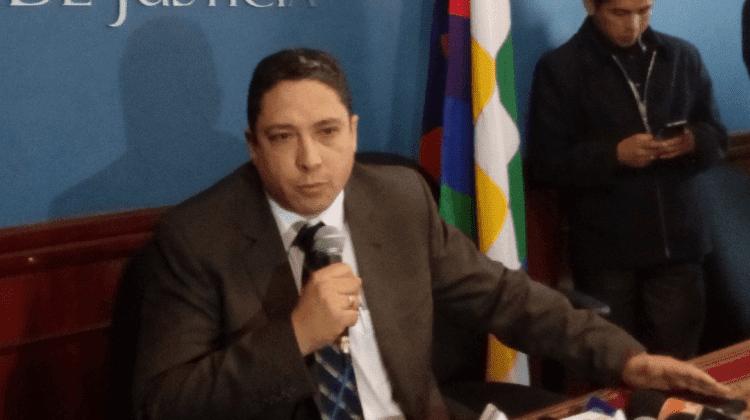 Héctor Arce Zaconeta, el exministro de Justicia,