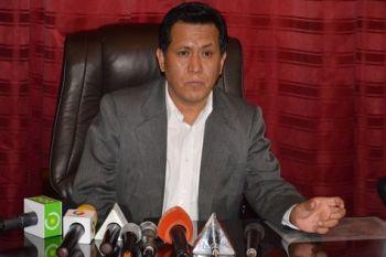 Lino Cárdenas, diputado del Movimiento Al Socialismo (MAS)