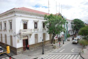Frontis Gobernación de Tarija