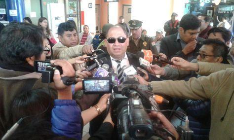 El Ministro de Gobierno, Carlos Romero