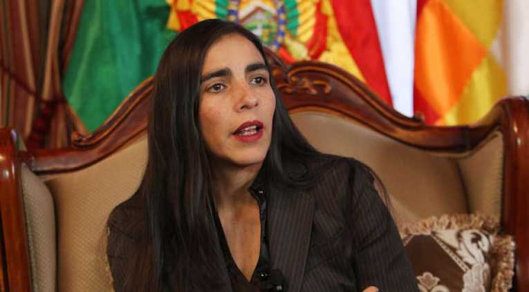 Gabriela Montaño, ministra de salud. Foto archivo