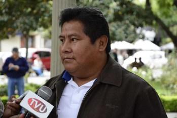 El actual diputado del MAS, Alex Mamani