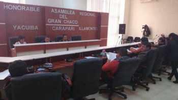 Asamblea Regional. Foto archivo
