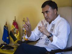 El ministro de la presidencia, Juan Ramón Quintana (Foto archivo)