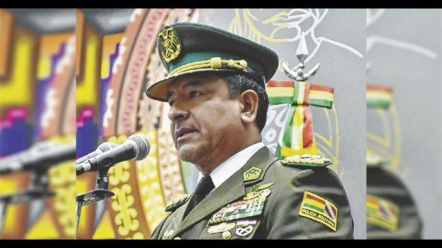 El ex Comandante de la Policía, Vladimir Yuri Calderón Mariscal