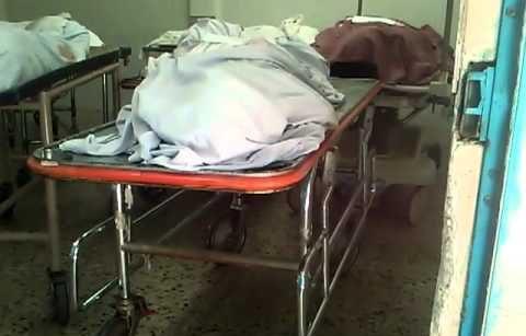El cadaver en la morgue