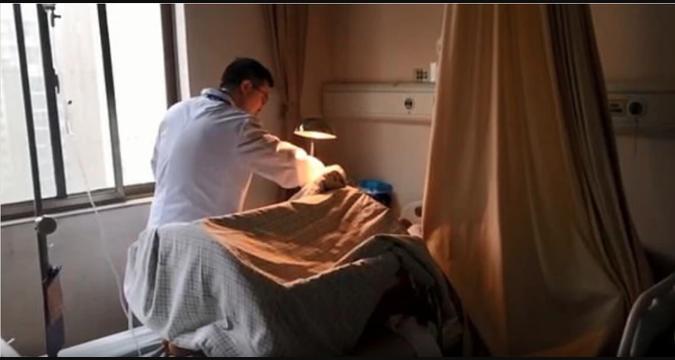 El hospital Xiangya, en Changsha, fue el único que pudo realizarle la exitosa cirugía tras haber pasado 15 horas de que le cortaran el pene al señor Tan Foto: Xiangya Hospital/Weibo