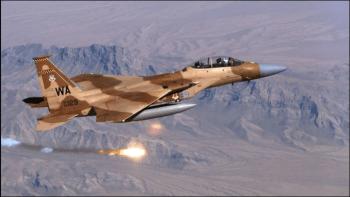 Israel respondió a un ataque contra una de sus aeronaves que realizaba un vuelo de rutina (archivo)