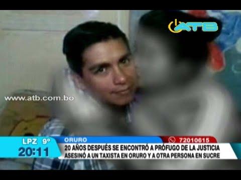 Capturan a prófugo de la justicia en Oruro después de 20 años