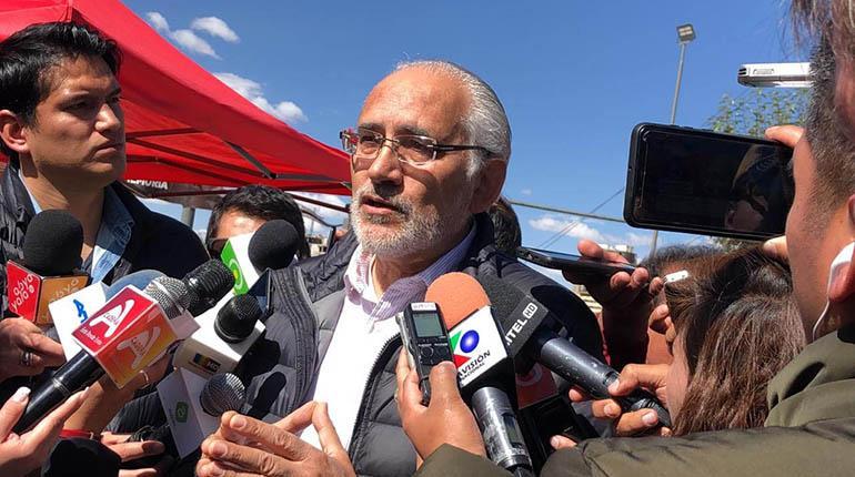 El candidato de Comunidad Ciudadana, Carlos Mesa | LOS TIEMPOS