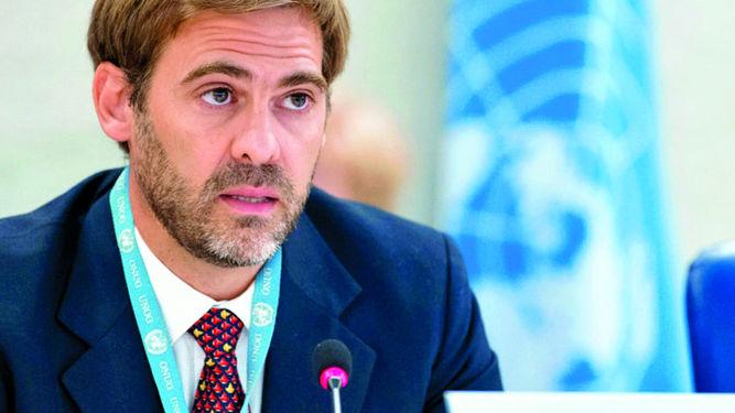El experto de la ONU, Juan Pablo Bohoslavsky, ayer en conferencia. | ONU