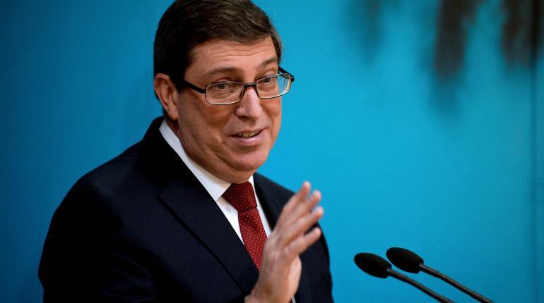 El ministro de Exteriores de Cuba, Bruno Rodríguez. | AFP