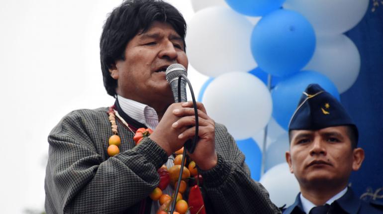 El presidente Evo Morales en Chuquisaca. | ABI