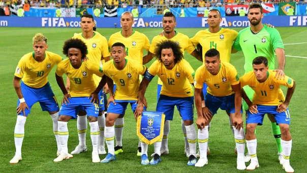 La Selección de Brasil ocupa el tercer puesto del ranking FIFA. | Fuente- AFP