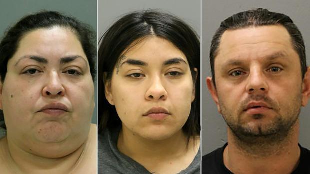 Los tres sospechosos del asesinato de Marlen Ochoa - AFP : CHICAGO POLICE DEPARTMENT