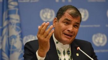 Rafael Correa / AFP