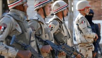 Miembros de las fuerzas de seguridad egipcia. (Reuters)