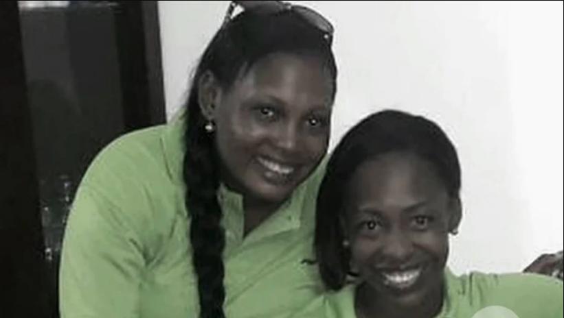 Kelly Arboleda junto a su amiga Idalia Rentería, a quien mandó a asesinar.