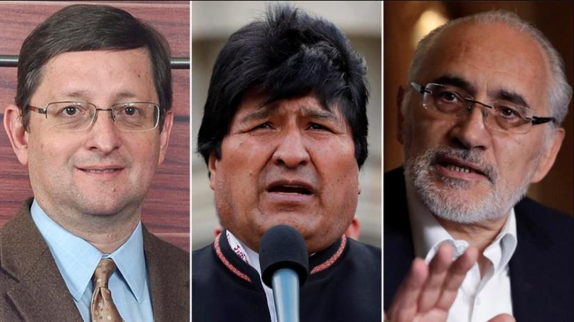 Oscar Ortíz, Evo Morales y Carlos Mesa, los principales cantidades presidenciales para la elección de 20 de octubre en Bolivia