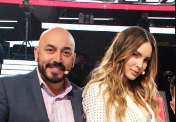 Belinda fue relacionada al cantante Lupillo Rivera (Instagram: yahirmusic)