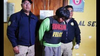 El hombre de 33 años fue aprehendido en enero, luego de su hermana alertara a la Policía de que asesinó y desmembró a su padre | Foto- Archivo Erbol