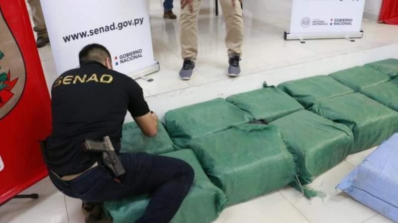 En Paraguay incautan casi media tonelada de cocaína proveniente de Bolivia (ABC Color)