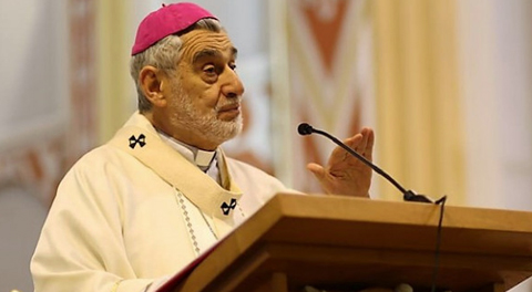 Monseñor Gualberti, arzobispo de Santa Cruz. Foto- Iglesia Viva