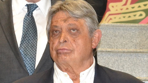 El expresidente, Jaime Paz Zamora