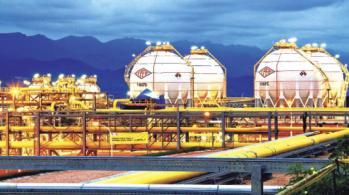 La planta separadora instalada en la región de Gran Chaco del departamento de Tarija. | ABI