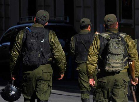 Policía boliviana. Foto referencial