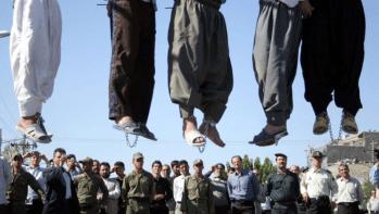 Irán es actualmente el país con mayor número de ejecuciones per cápita