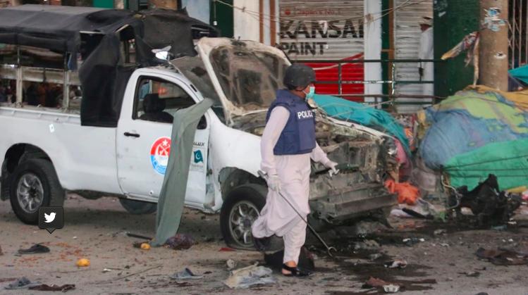 Cinco personas murieron en un ataque en Pakistán (REUTERS/Naseer Ahmed)