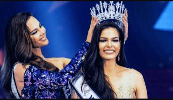 La Miss Universo Tailandia 20195 se coronó con una polémica respuesta (Foto: Twitter – Paweensuda Drouin)