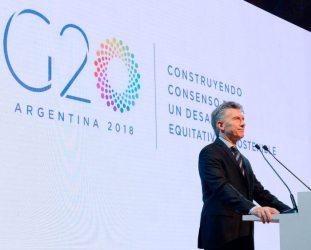 Mauricio Macri, presidente de Argentina y miembro del Mercosur; el bloque va por más tratados de libre comercio.