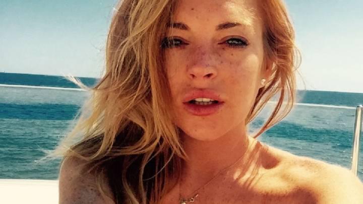 La Foto Hot De De Lindsay Lohan Para Celebrar Su Cumpleaños