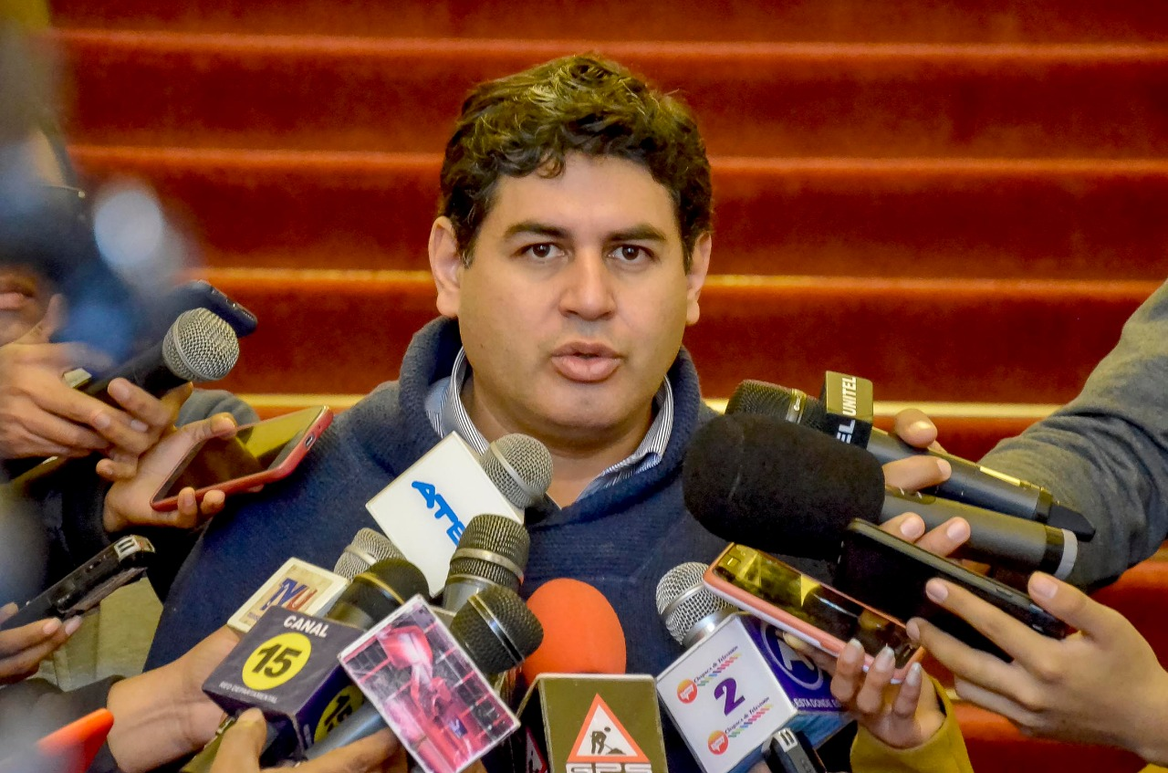 El secretario de Economía y Finanzas de la Gobernación, Manuel Figueroa