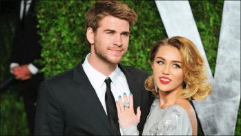 Después de 10 años de relación intermitente, Miley Cyrus y Liam Hemsworth se dieron el sí quiero en Tennessee, en diciembre de 2018 (Foto: Reuters)