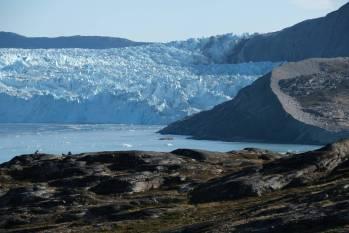 Deshielo de un glaciar en Groenlandia. SEAN GALLUP (GETTY IMAGES)