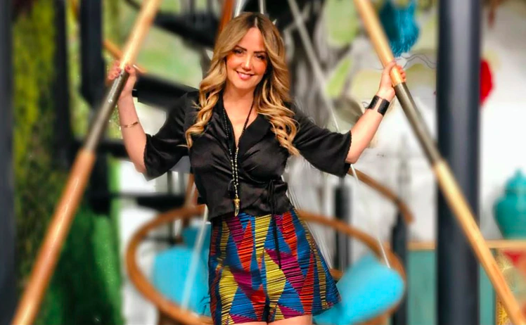 """Legarreta es una de las conductoras más famosas del programa """"Hoy"""" (Instagram:andrealegarreta)"""