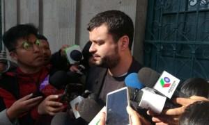 El ministro de Comunicación, Manuel Canelas