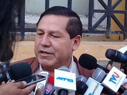 Ramiro Vallejos, Alcalde de Yacuiba.