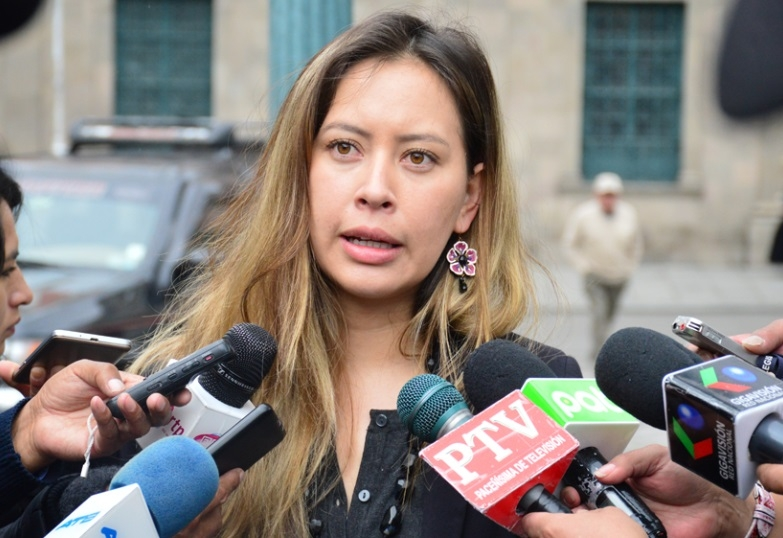 La diputada, Valeria Silva