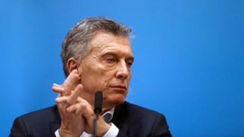 El presidente de Argentina, Mauricio Macri. / Reuters