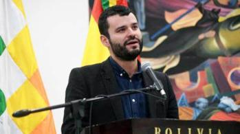 El ministro de Comunicación, Manuel Canelas. | Foto archivo | Boliva Prensa El ministro de Comunicación, Manuel Canelas. | Foto archivo | Boliva Prensa