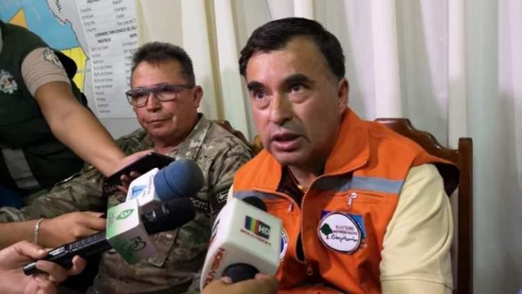 Ministro de la Presidencia, Juan Ramón Quintana