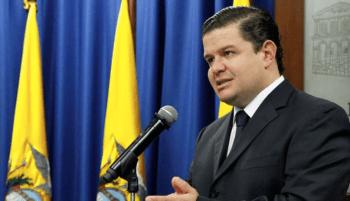 Juan Sebastián Roldán, secretario de la Presidencia ecuatoriana