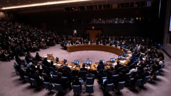 Los miembros europeos del Consejo de Seguridad de la ONU llamaron a detener la ofensiva turca en Siria (Photo by Johannes EISELE / AFP)