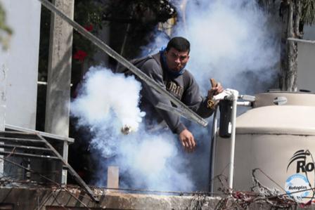 Manifestación en Honduras contra el presidente Juan Orlando Hernández